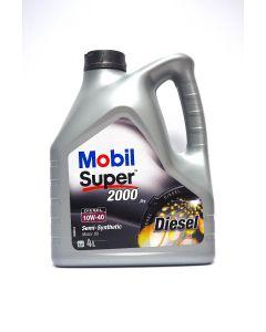 OLEJ MOBIL SUPER 2000 X1 DIESEL 10W40 4L